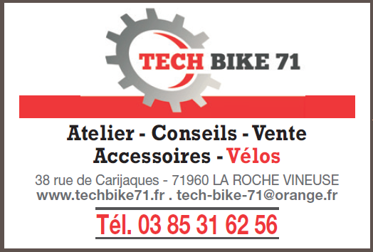 Tech Bike 71,  La Roche Vineuse