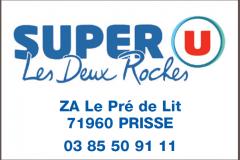 SUPER U,  Prissé