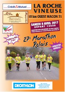 Plaquette Marathon 2017
